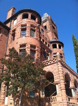 Preston Castle: front of castle
