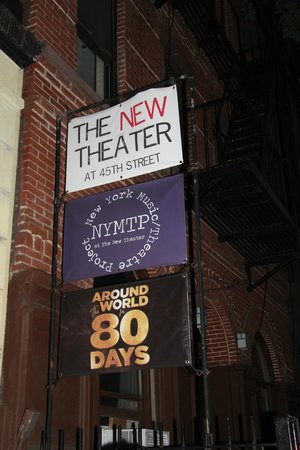 The New Theater at 45th Street - Around the World in 80 Days