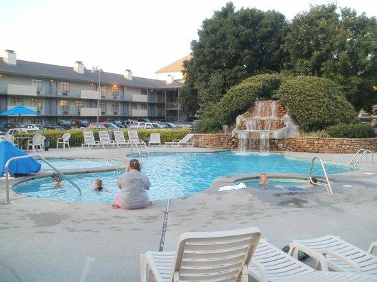 Best Western Plaza Inn: Out Door Pool