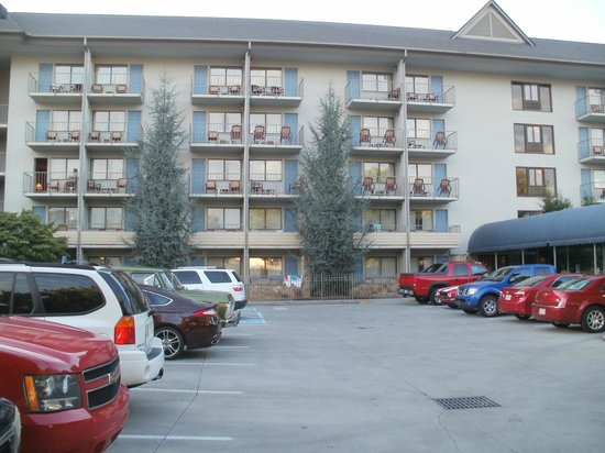 Best Western Plaza Inn: Rear Mountain View Rooms