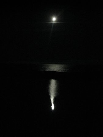 Breakers Inn : Moonlight from our Deck