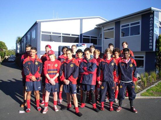 Pacific Coast Lodge and Backpackers: Rotorua Boys Tournament Team