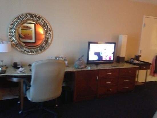 Hilton Branson Convention Center: work center
