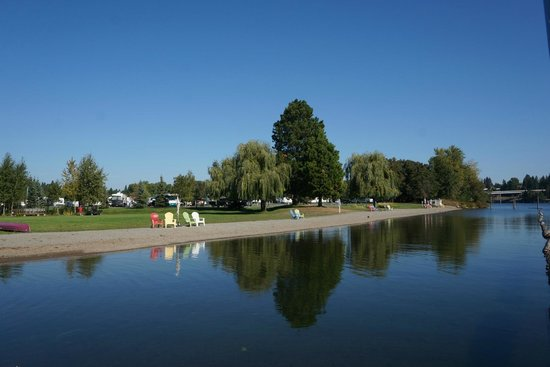 Blackwell Island RV Park : A perfect early September day along a beautiful river.