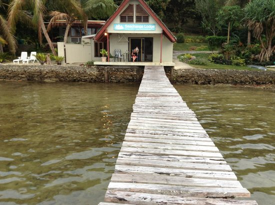 Seachange Lodge: From our Jetty