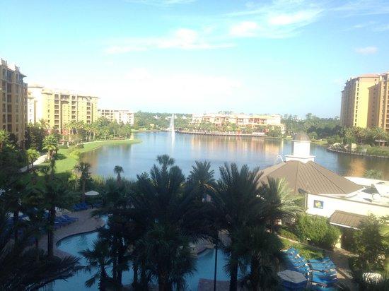 Wyndham Grand Orlando Resort Bonnet Creek: View from the balcony