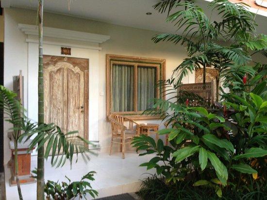 Baleka Resort Hotel & Spa: Room entrance