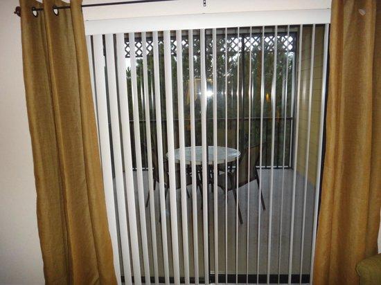 Caribe Cove Resort Orlando : Master bedroom balcony