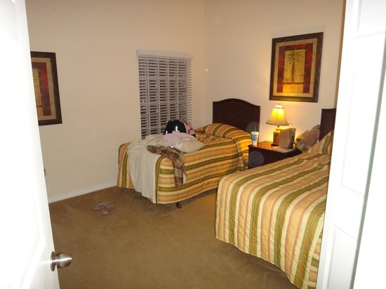 Caribe Cove Resort Orlando: twin bed room
