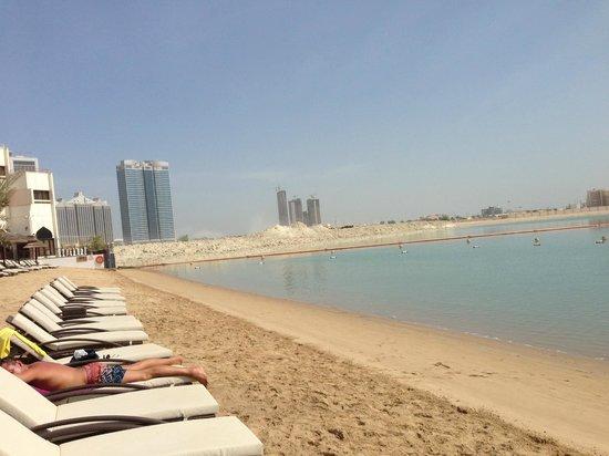 Le Meridien Abu Dhabi: plage