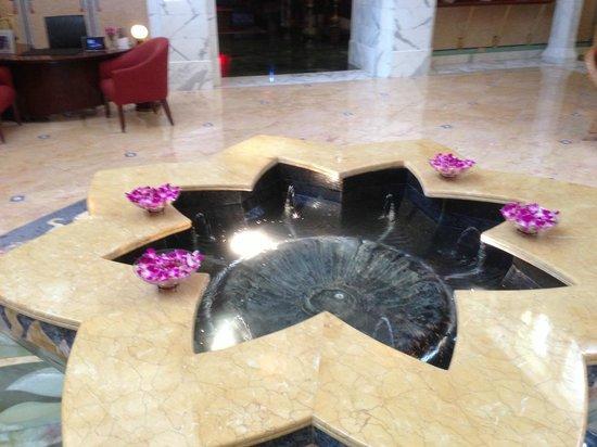 Le Meridien Abu Dhabi : hall