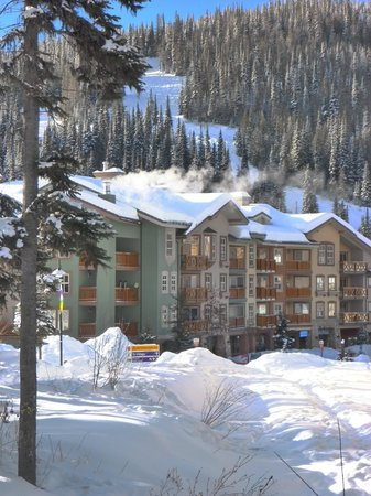 Sun Peaks: Fireside Lodge at the top end of the village. Ski from and to your door.