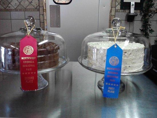 Bowman's Restaurant: Award-winning Desserts
