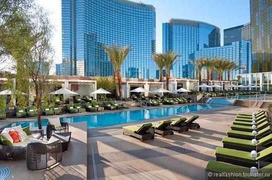 Mandarin Oriental, Las Vegas: Pool area