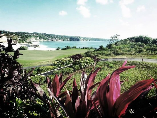 The Golf Academy Bali: View over the 14th