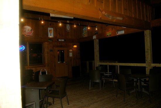 Toccoa Riverside Restaurant Pooch patio & Pooch patio - Picture of Toccoa Riverside Restaurant Blue Ridge ...