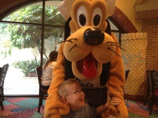 Goofy's Kitchen : Pluto