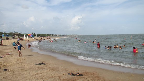 Beach picture of sylvan beach park la porte tripadvisor for Where is laporte texas