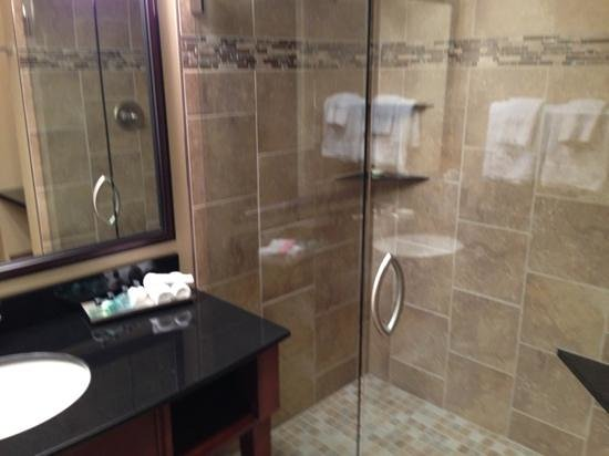 Grand Casino Hotel: Shower