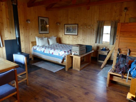 "Camp Denali: Inside of ""Cirque"" cabin"