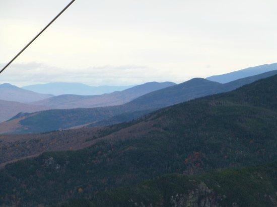Cannon Mountain: View from the Tram