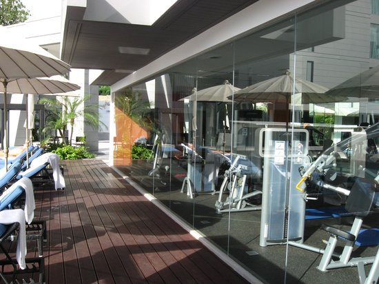 Absolute Twin Sands Resort & Spa: anyone for the gym?