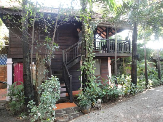 The River Garden: The Khmer Cottage