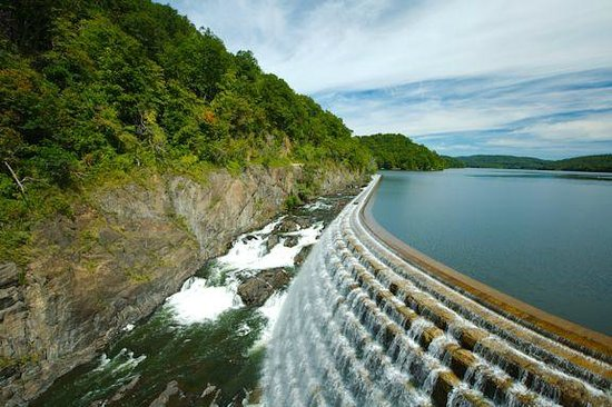 New Croton Dam: View of the Dam
