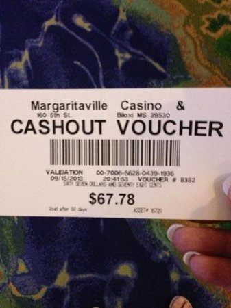 Margaritaville Casino: Look I what I won after spending just $4