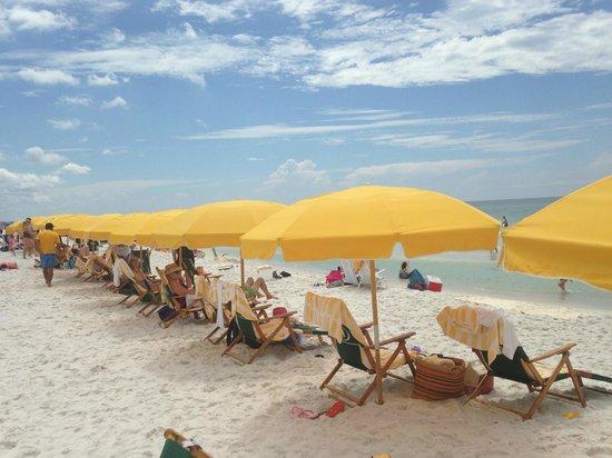 Beachside Towers at Sandestin: Beach Umbrella Service