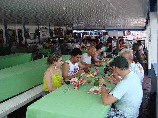 Parque Ecologico Januari : Restaurante no parque