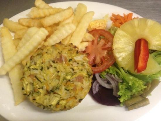 Sacha's Coffee Lounge: Gluten free frittata
