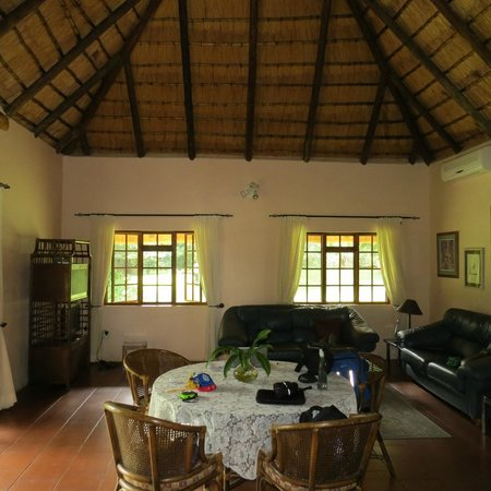 Blyde River Canyon Lodge: View of living area.