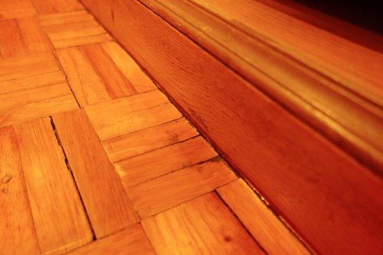 Golden House: Wooden floor