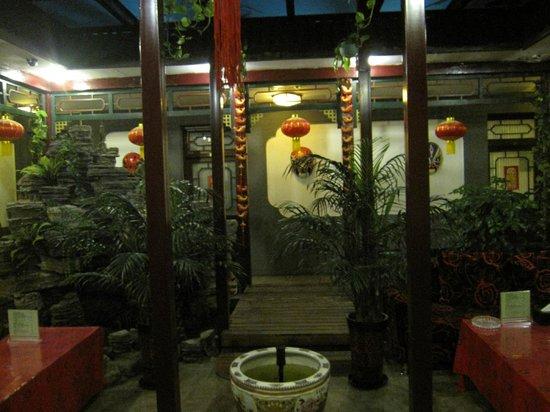 Xiao Yuan Alley Courtyard Hotel: サロン