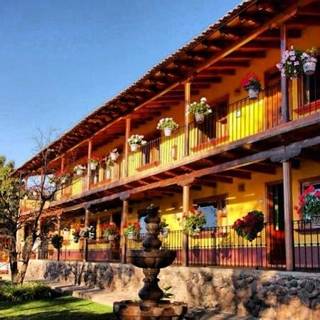 Huerta Real, Hotel: hotel Huerta Real Mazamitla