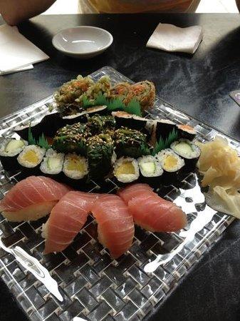 Sweet Sushi: Sushi selbst zusammengestellt