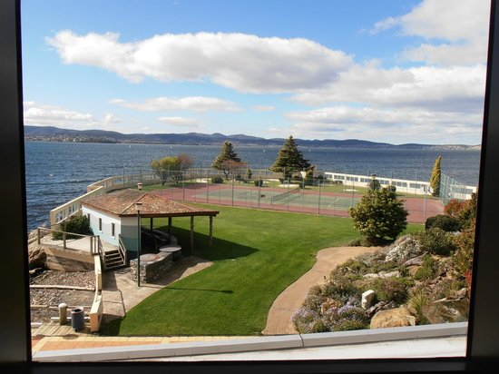 the view from our table picture of wrest point hobart. Black Bedroom Furniture Sets. Home Design Ideas