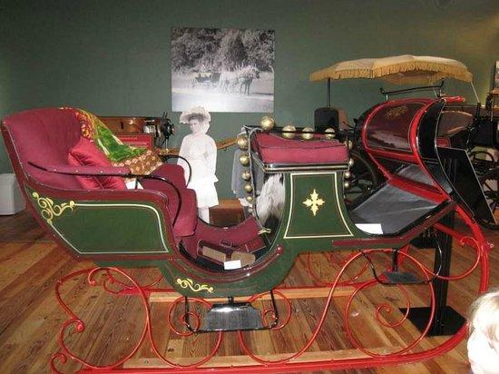 Northwest Carriage Museum: Sleigh