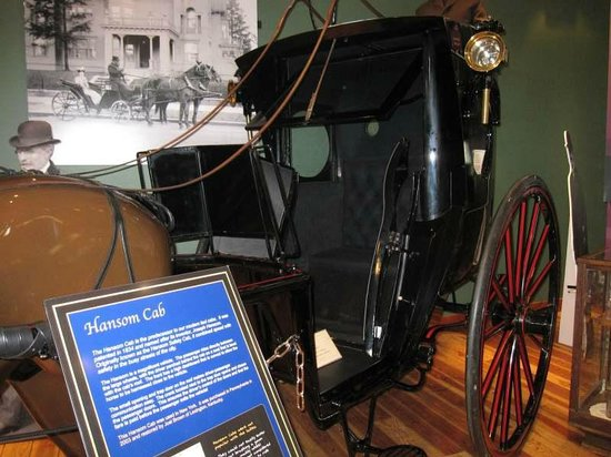 Northwest Carriage Museum: Hansom Cab