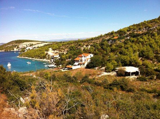 location photo direct link villa tudor hvar island split dalmatia county