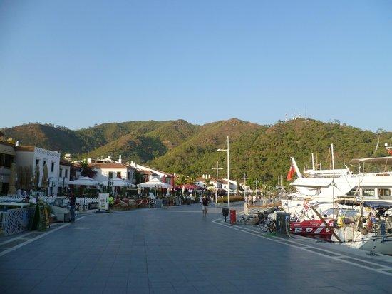 Hotel Jade: Ausflug, Marmaris-Hafenpromenade