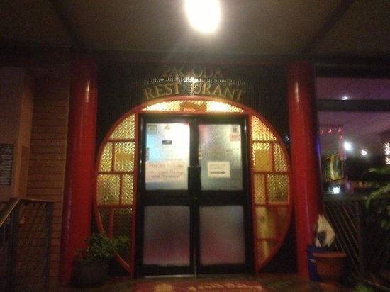 Pagoda Chinese Restaurant: The main entrance