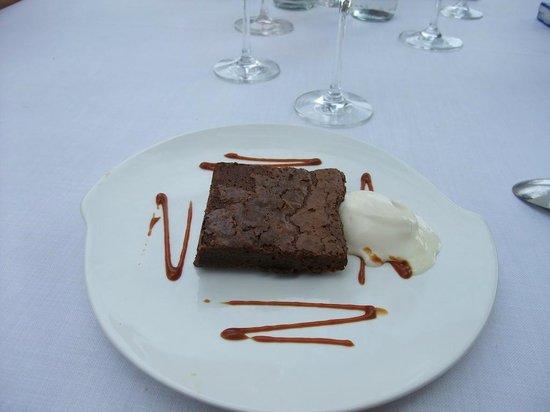 La Palmera de la Llosa: Brownie de chocolate