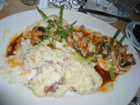The Cheesecake Factory: food I ordered