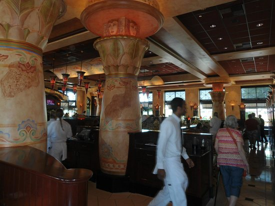 The Cheesecake Factory: inside the restaurant