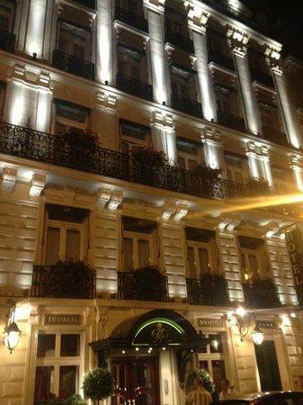 Hôtel Franklin D. Roosevelt : Facade
