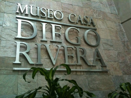 Diego Rivera Museum and Home (Museo Casa Diego Rivera) : MUSEO CASA DIEGO RIVERA