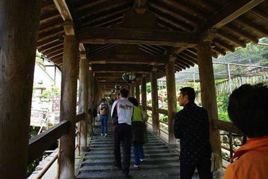 Hasedera Temple : 登廊
