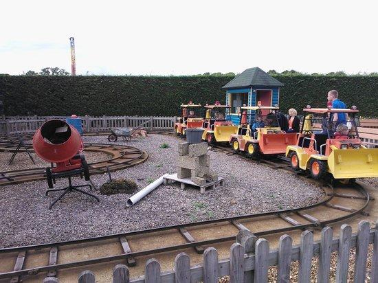 Paultons Park Digger Ride